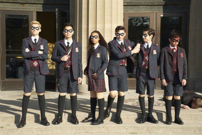 La série fantastique «The Umbrella Academy » diffusée sur Netflix.