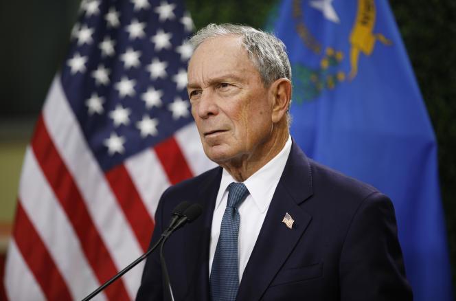 Michael Bloomberg, le 26 février à Las Vegas.