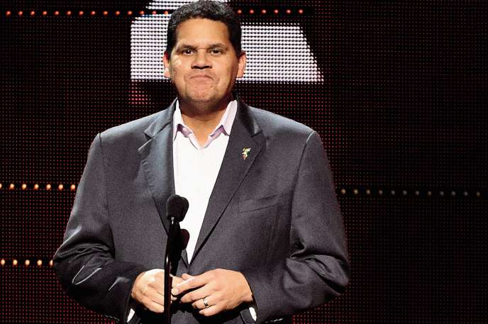 Reggie Fils-Aimé, président de Nintendo of America jusqu'au 15 avril 2019.