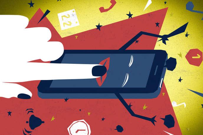pixels téléphone smartphone deconnexion