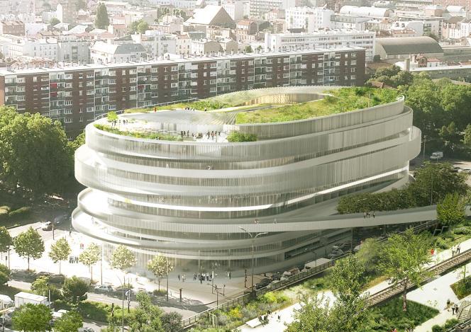 Le projet de Cité universelle, à Paris,de la société toulousaine GA Smart Building.