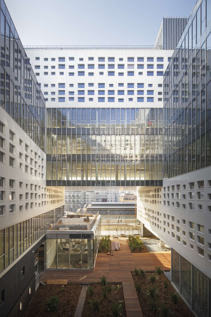 Le Panorama conçu par l'architecte Marc Mimram à Paris (13e).
