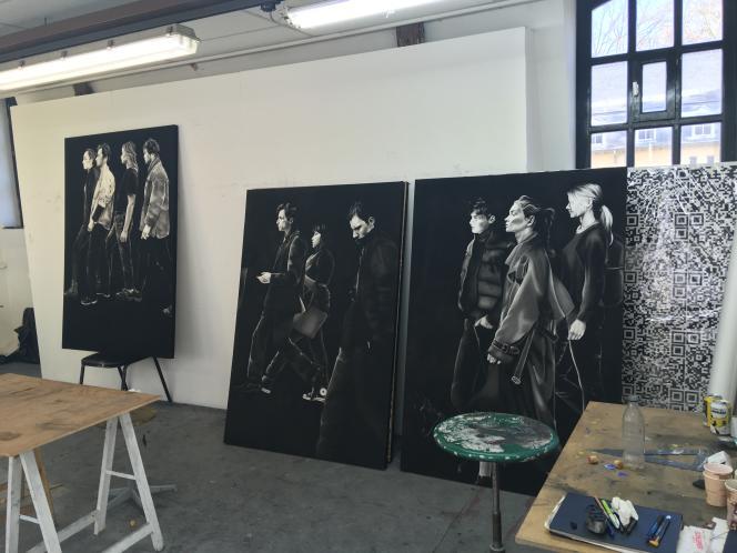 La Cambre accueille l'avant-garde artistique belge depuis quatre-vingt-dix ans.Dessins d'Aymeraude du Couëdic.