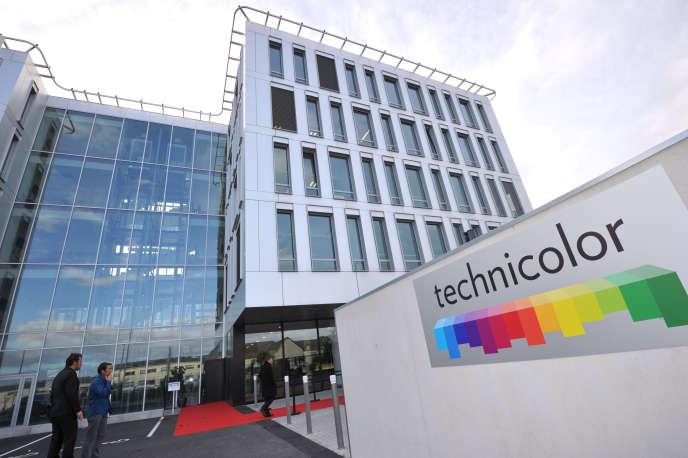 Site Technicolor de Cesson-Sévigné, près de Rennes, le 22 novembre 2012.