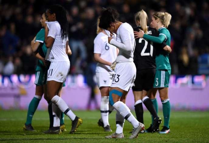 Les Bleues ont chuté face à l'Allemagne (0-1), jeudi 28 février à Laval.