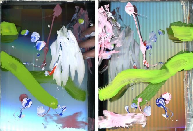 «(#001)», série «Chirales» (2014- 2019), deBaptiste Rabichon.