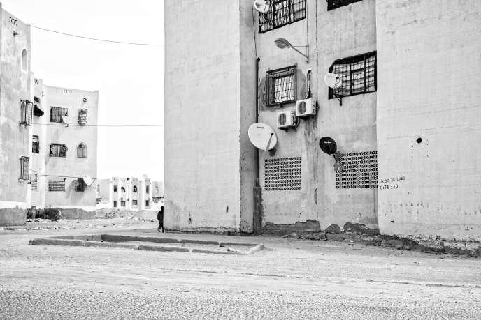 Une cité dans le quartier de Haï Enassr en banlieue de Ouargla.