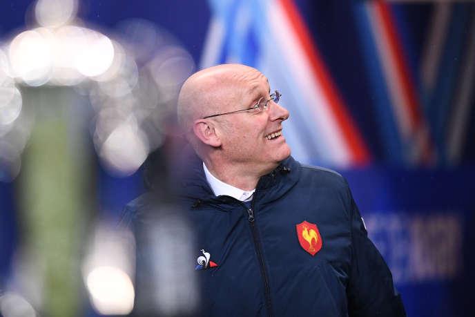 Bernard Laporte, le 1er février à Saint-Denis.