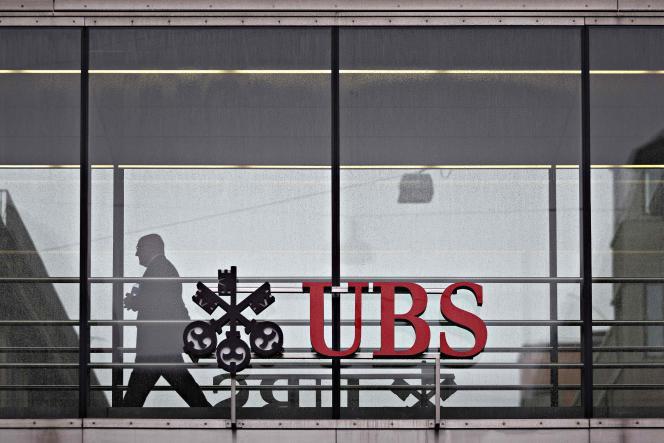UBS, le numéro un mondial de la gestion de fortune, à Zurich, en 2018.