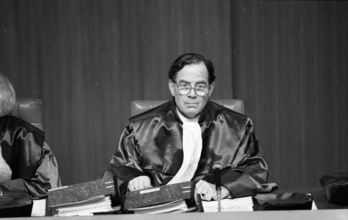 Ernst-Wolfgang Böckenförde, en 1989.