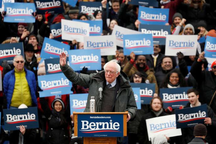Bernie Sanders, samedi 2 mars à New York.