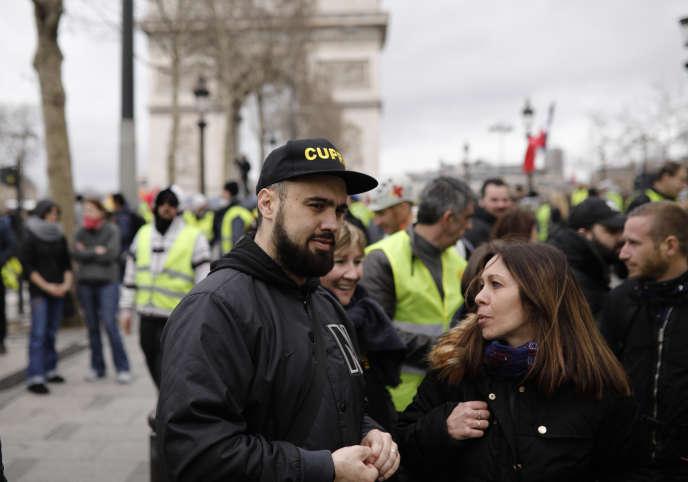 Eric Drouet, à Paris le 2 mars.