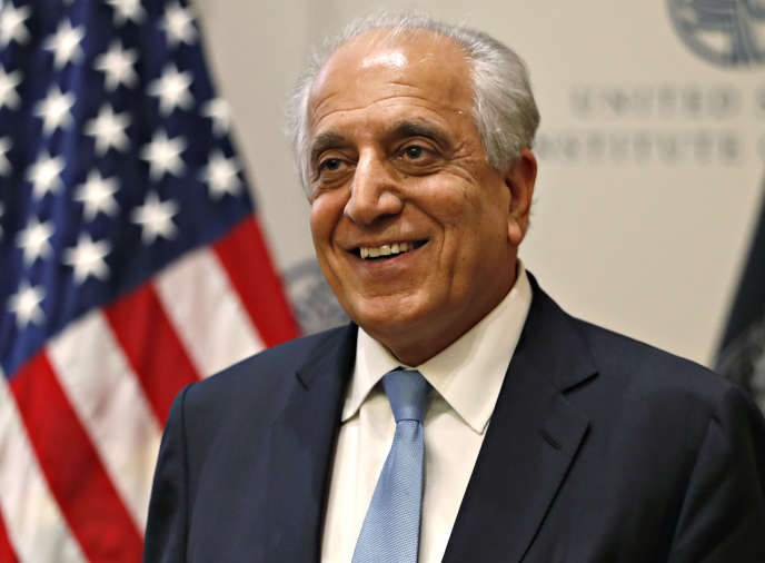 L'envoyé américain en Afghanistan Zalmay Khalilzad, le 18 février 2019, à Washington.