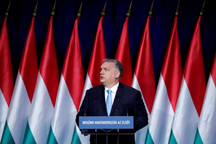 Viktor Orban, le premier ministre hongrois, le 10 février.
