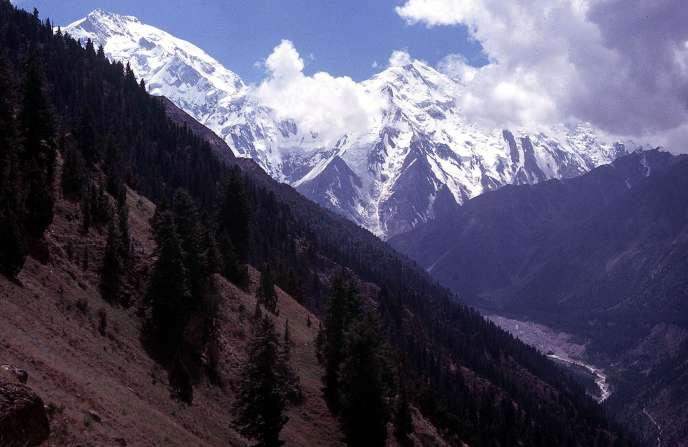 Le Nanga Parbat, en juin 2003.