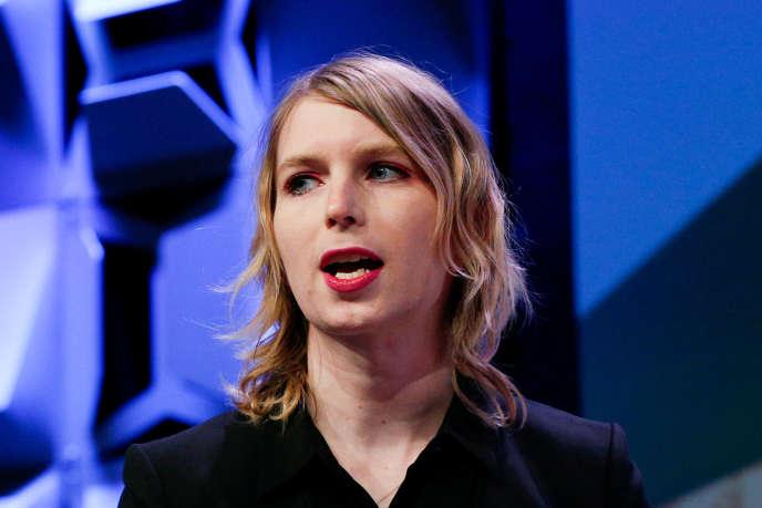 Chelsea Manning lors du festival South by Southwest, à Austin (Texas), le 13 mars 2018.