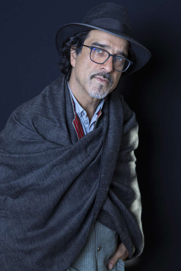 L'écrivainfranco-afghan Atiq Rahimi, en 2018.