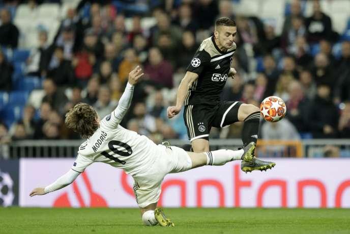 Dusan Tadic et l'Ajax ont survolé les débats, mardi, face au Real Madrid du Ballon d'or Luka Modric.