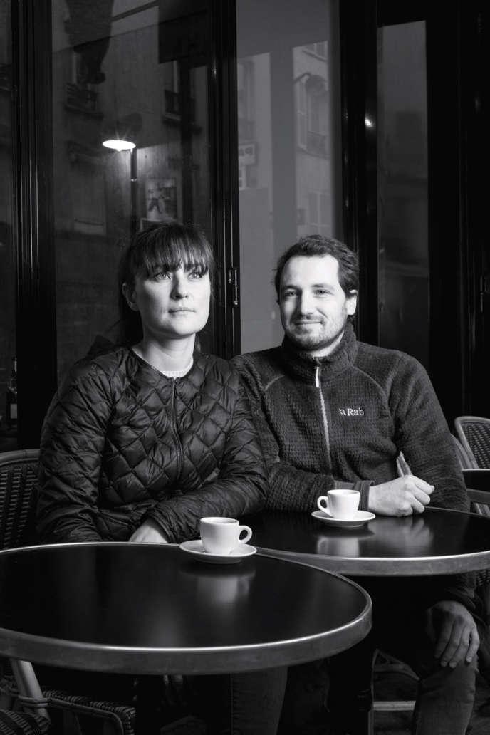 Laure Takahashi et Mathieu Vermorel, propriétaires de la fromagerie Taka & Vermo, à Paris.