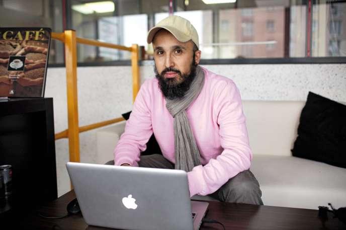 A travers «Al-Kanz», le site qu'il a créé, Fateh Kimouche donne des conseils aux consommateurs musulmans sur la qualité des produits halal.