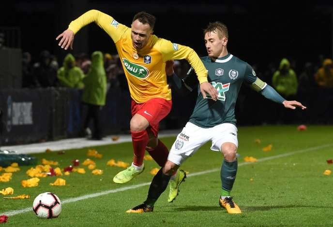 L'AS Vitré, qui évolue en National 2, s'était imposé face auHavre (3-0) puis face à Lyon-Duchère (3-2) en huitièmes.
