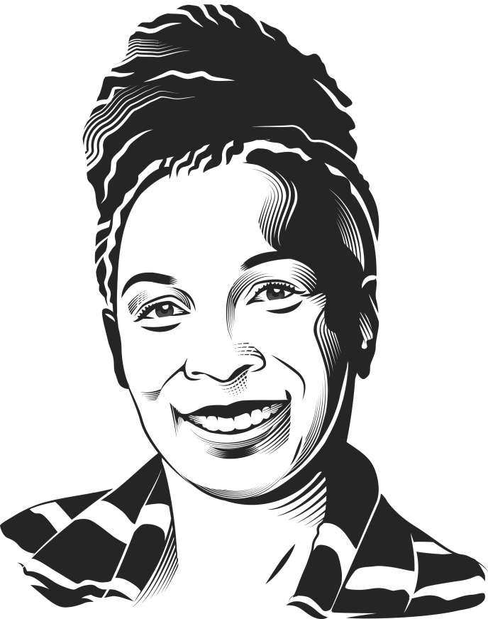 La juriste afro-américaine Kimberlé Crenshaw.