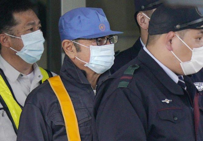 Carlos Ghosn à sa sortie de prison, le 6 mars.