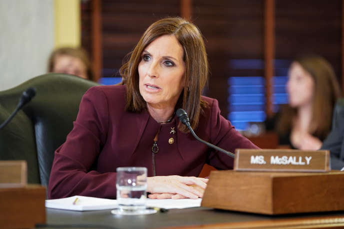 Martha McSally, mercredi 6 mars à Washington.