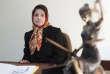 L'avocate Nasrin Sotoudeh, en novembre 2008.