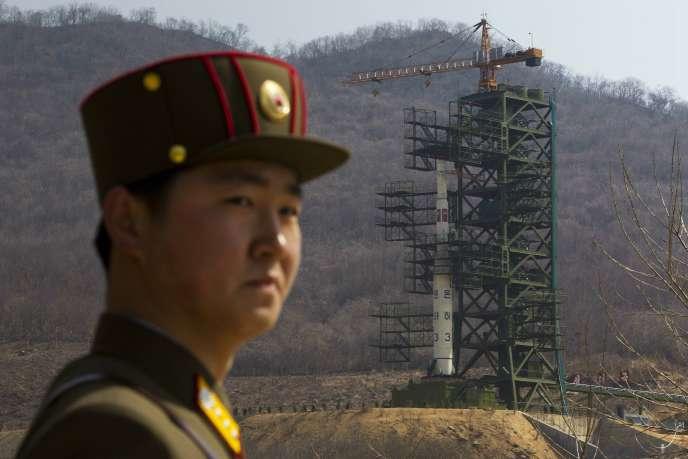 Sohae, sur la côte nord-ouest de la Corée du Nord, sert officiellement à placer des satellites en orbite.