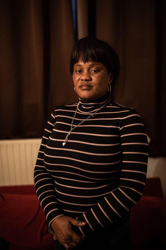 Maison des journalistes, Paris, le 11 janvier 2019, portrait de Gathy, dans sa chambre.