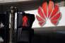 Le logo de Huawei à Shanghai (Chine), le 7 mars 2019.