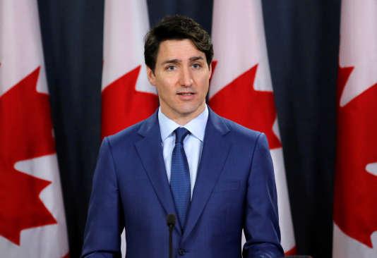 Justin Trudeau, le 7 mars, à Ottawa.