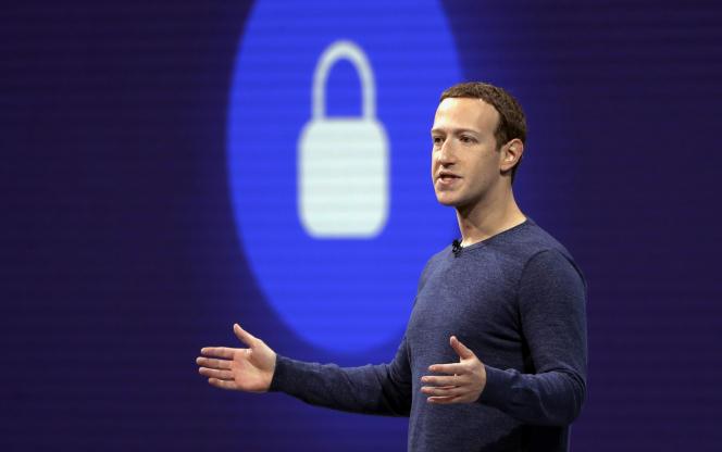 Mark Zuckerberg à San Jose (Californie), le 1er mai 2018.