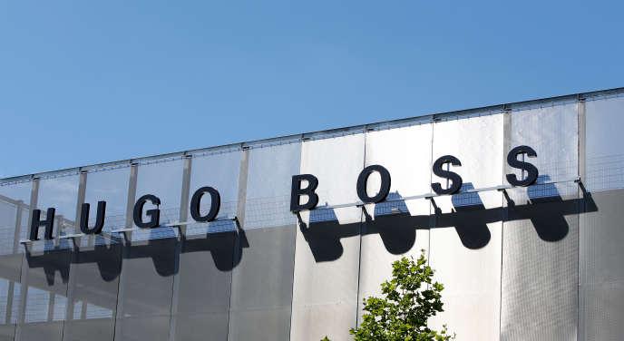 Le siège du groupe Hugo Boss, à Metzingen (sud-ouest de l'Allemagne), en juin 2017.