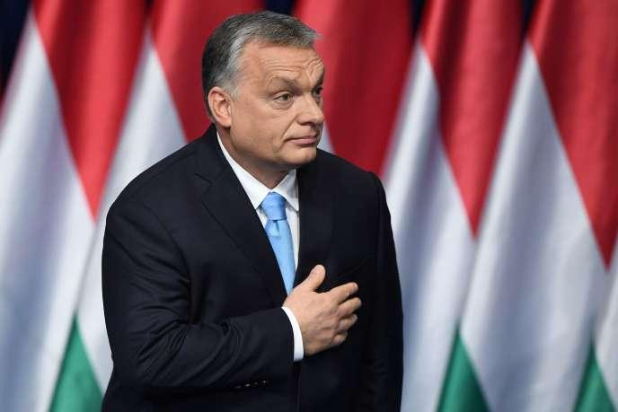 Le premier ministre hongrois Viktor Orban, à Budapest, le 10 février.