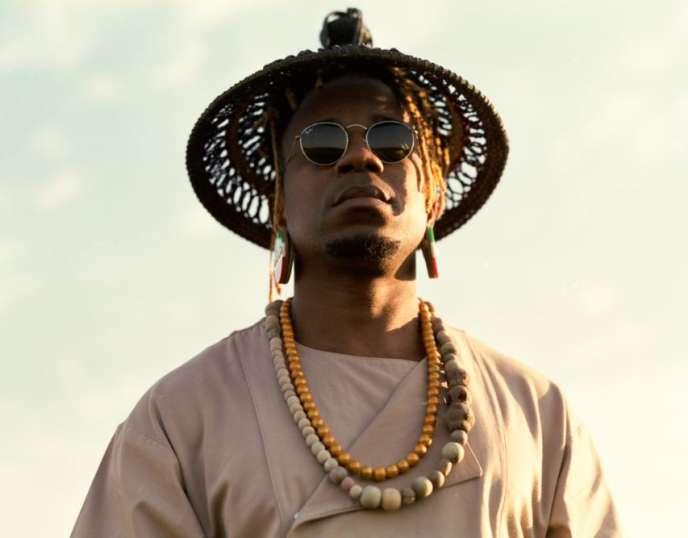 Le chanteur et musicien camerounais Blick Bassy.