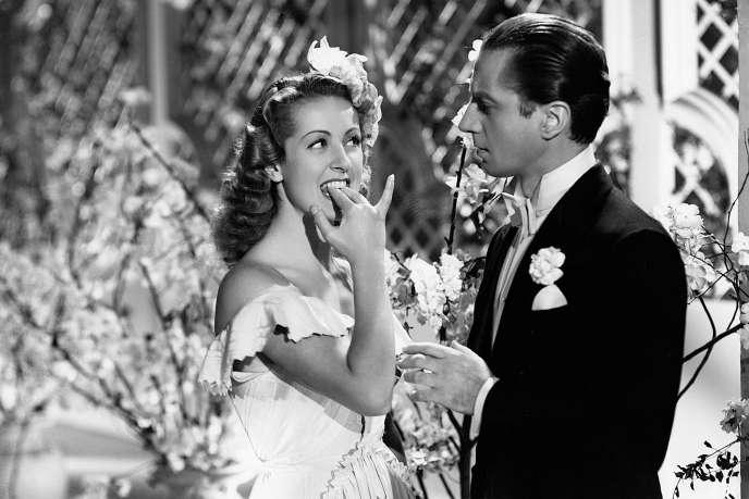 Danielle Darrieux et Claude Dauphin dans « Battement decœur »(1940), de Henri Decoin.