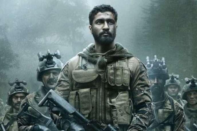 L'affiche dufilm «Uri:thesurgicalstrike», réalisé parAdityaDhar, et sorti dans les salles en Inde en janvier.