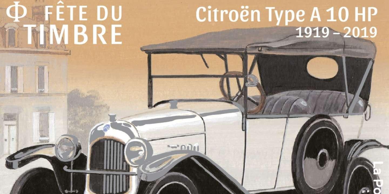 Philatélie : la légende Citroën et la Fête du timbre