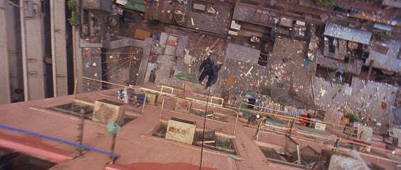Le climax de« Time and Tide», filmé au coeur d'une citée HLM de Hong Kong