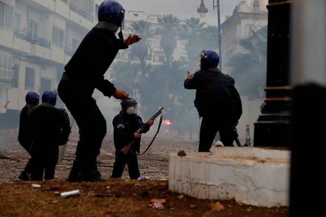 Des heurts ont eu lieu, dans la journée du 8 mars, à Alger.