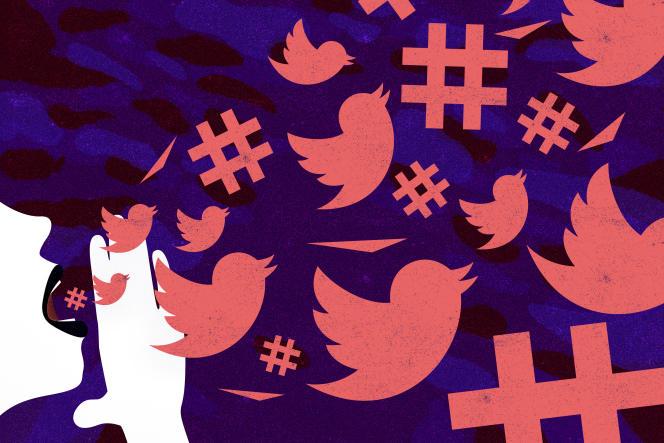 Twitter France et la députée Laetitia Avia ont accordé un entretien commun au Monde, lundi 1er juillet.