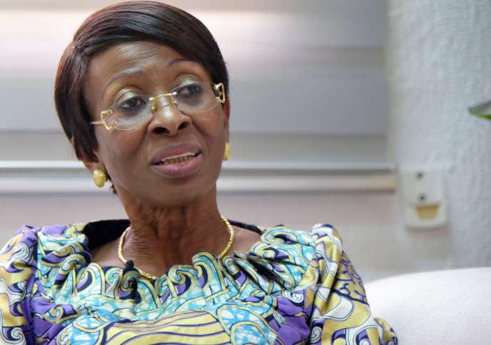 Ramata Ly-Bakayoko, ministre de la femme, de la famille et de l'enfant de Côte d'Ivoire, à Abidjan, le 28 février 2019.