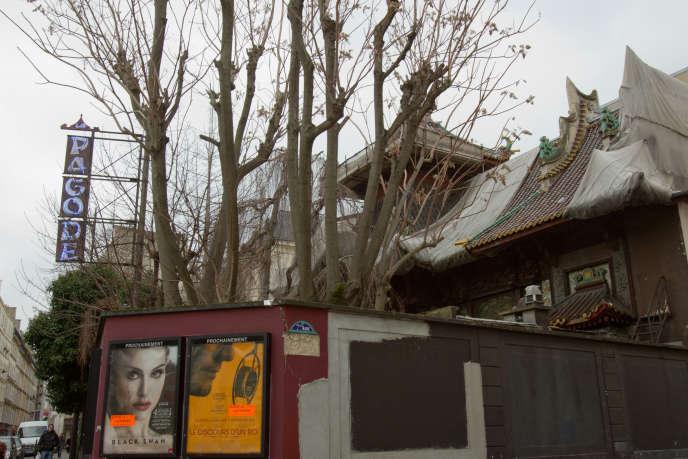 Le cinéma La Pagode à Paris en janvier 2011.