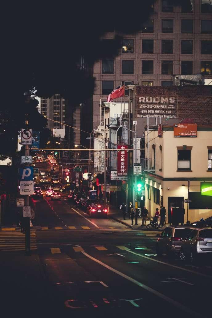 San Francisco, de nuit.