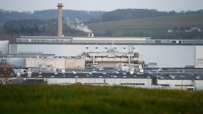 L'usine de Bessé-sur-Braye (Sarthe) d'Arjowiggins, le 20 février.