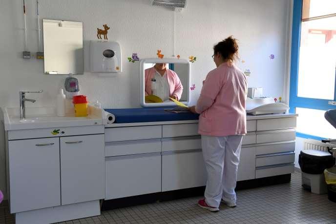 A l'hôpital de Die (Drôme), le 5 mars.