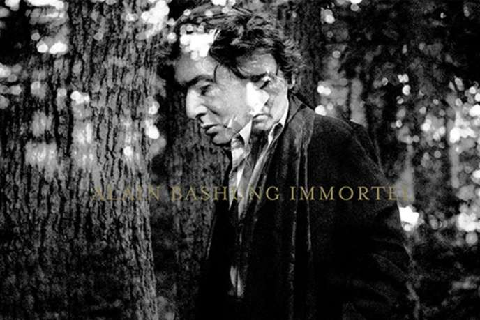 Visuel de l'intégrale d'Alain Bashung, « Immortel», un coffret de 24 CD ou 17 vinyles.