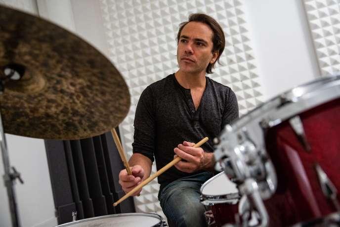 Le batteur et compositeur de jazz Fabrice Moreau.